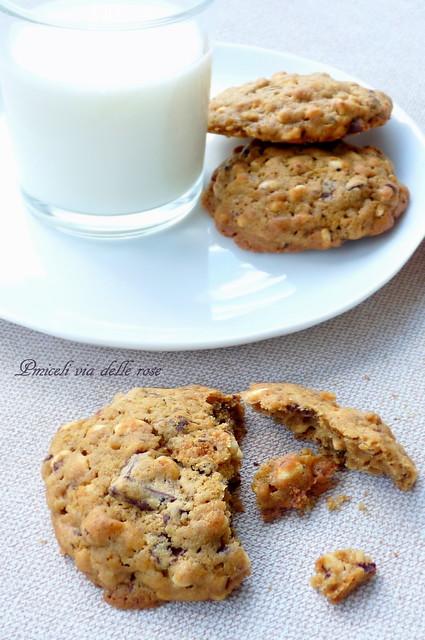 Cookies chocolat rice krispie