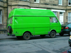Van (BurnThePlans) Tags: green vw van camper lt35