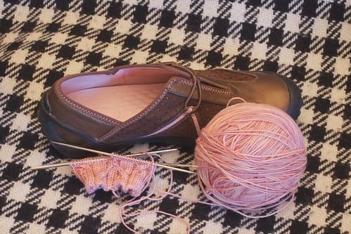 Calcareous Sock: WIP