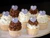 "Vanilla cupcakes with Nutella filling (Sweet Carolina ""The Art of Cake"") Tags: wedding cookies cake brasil design cupcakes saopaulo casamento doces bolos lembrancinhas minibolos sweetcarolina"