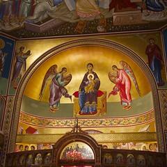 (mark and arlene) Tags: toronto altar fresco greekorthodoxchurch churchofstgeorge 200mmf17