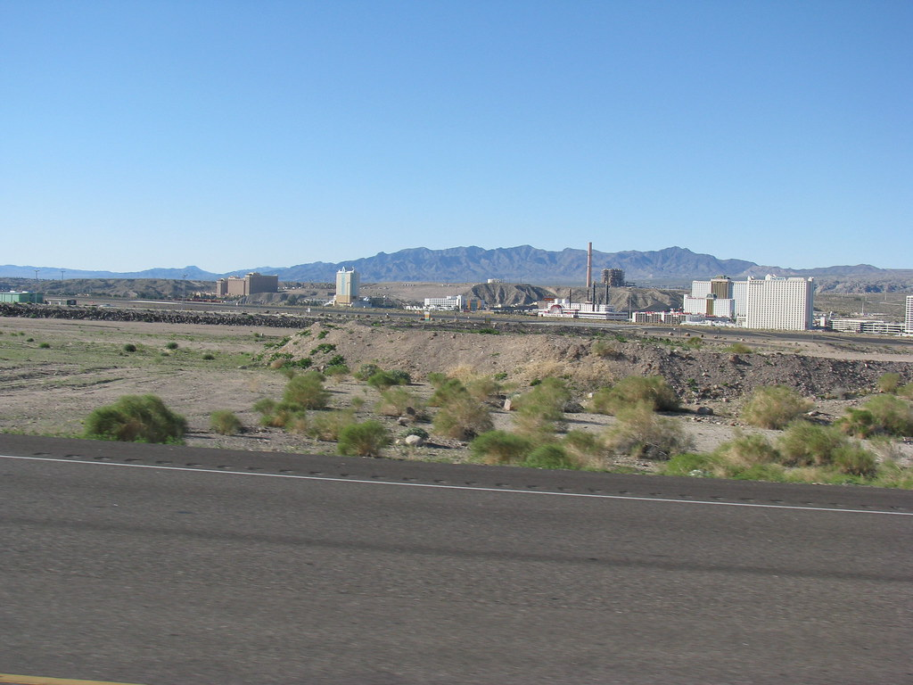 Laughlin Nevada From The Arizona Side Of The Colorado River