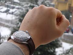 Wristshot: Boctok Komandirskie 3AKA3 in a snowy day (3) (FLO_mac ) Tags: vostok cccp russianwatch boctok wostok komandirskie 3aka3mocccp