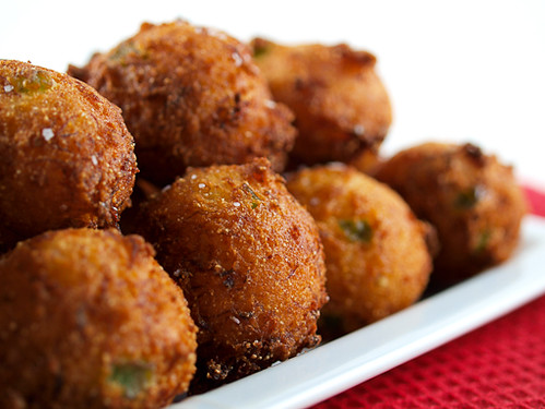Crab Jalapeno Hushpuppies