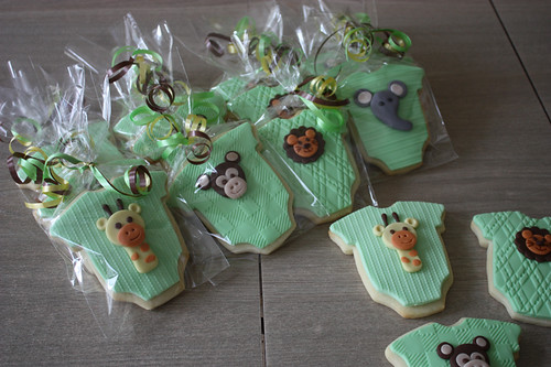 Baby Shower Cookie Favours