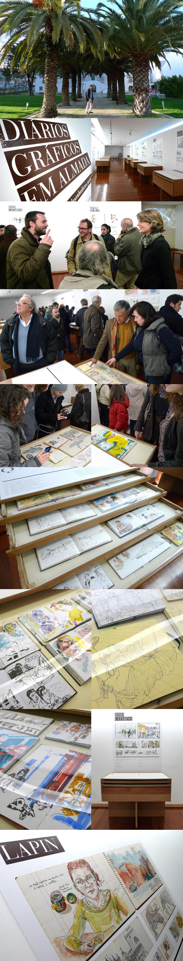 diarios graficos em almada - exhibition
