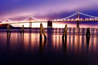 Bay Bridge colors