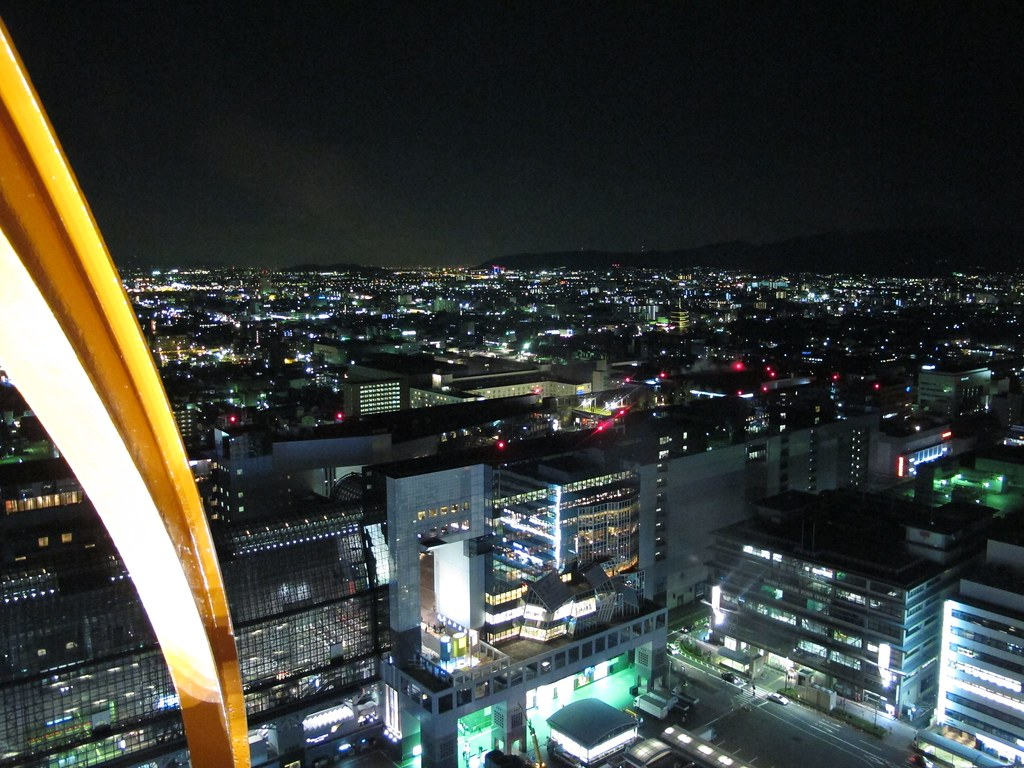 京都タワー展望室
