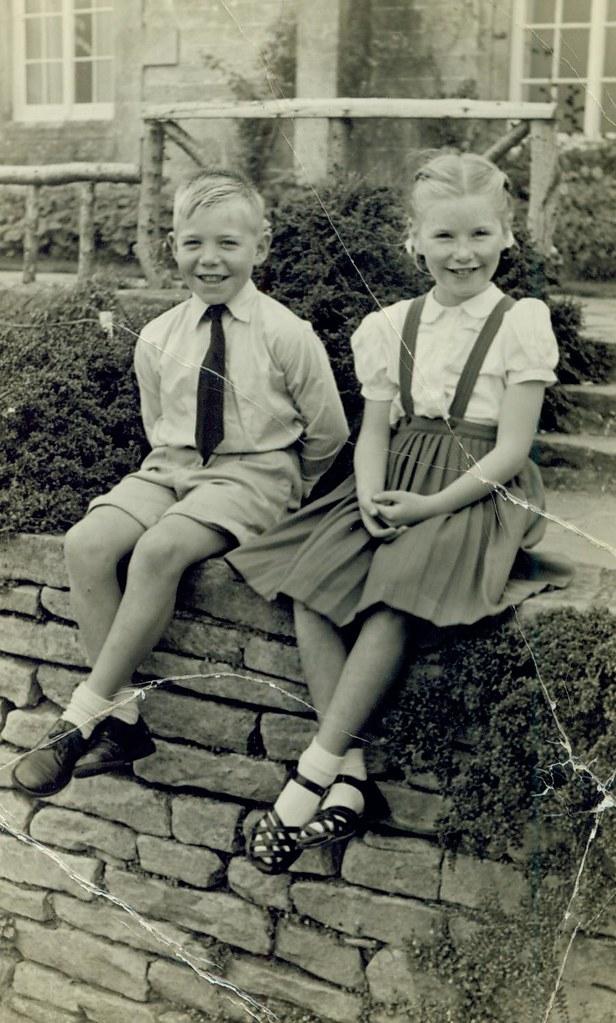 Jim and Evelyn Fraser 14th Sept 1958