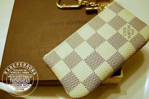 Louis Vuitton Damier Azur Key Pochette