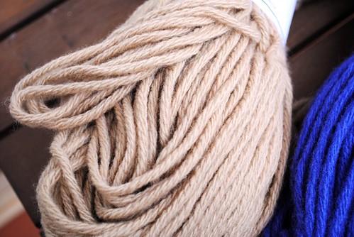 caramel wool