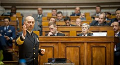 NATO presented and discussed in the Portuguese Parliament (Joint Force Command Lisbon) Tags: ocean people nikon europe lisboa lisbon parliament national conference after shield operation commission jaime portuguese defense commander nato supreme pinto lisbonne gama otan allied valenca stavridis saceur jfcl jfclb