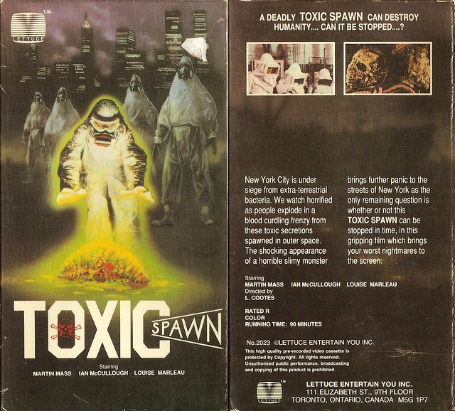 Toxic Spawn (VHS Box Art)