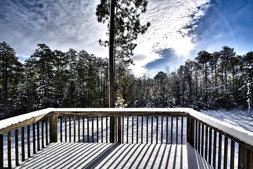 Second Story Snowy Landscape