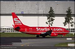 Cimber Sterling - OY-MRE - B737-700 (Aviation & Maritime) Tags: sterling boeing osl gardermoen 737 b737 cimber boeing737 737700 engm boeing737700 b737700 osloairportgardermoen oymre cimersterling