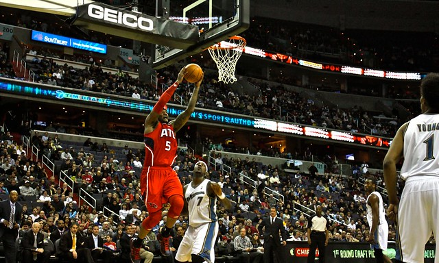 josh smith, atlanta hawks, washington wizards, nba, under the hoop, truth about it