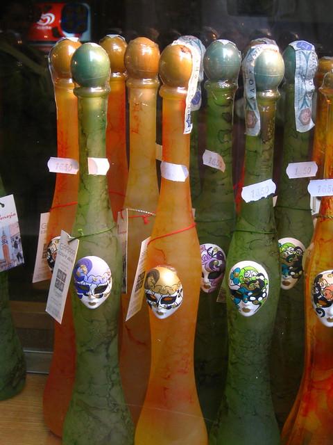 カーニバルのボトルのフリー写真素材