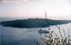 Murmurs from a lost holiday (Mats Andreas Nielsen) Tags: public private boat superia places santorini fujifilm fears vulcano nikkormat neakameni nikkors superiaxtra400 nikkormatft 50mmf14nikkors