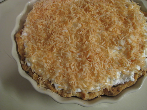 triple coconut pie
