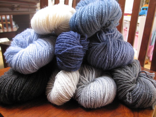 River Run yarn dyed