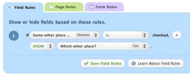Rule for Other Checkbox