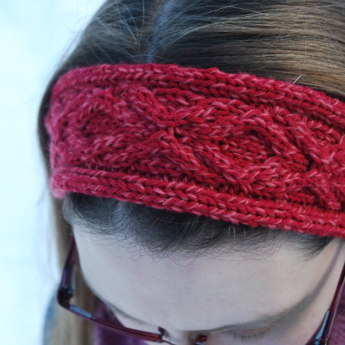 Free Knitting Pattern Headband : XOXO Headband   A Free Knitting Pattern The Hook and I