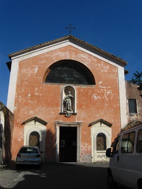 ローマの教会のフリー写真素材