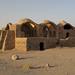 Ruins near Tower of Silence, Yazd, Iran