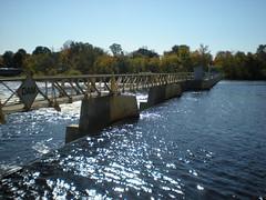 North American Hydro's Menominee Dam (U.S. Fish and Wildlife Service - Midwest Region) Tags: dam michigan wi lakesturgeon fish sturgeon menomineeriver river wisconsin passage mi wildlife animal glri greatlakesrestorationinitiative