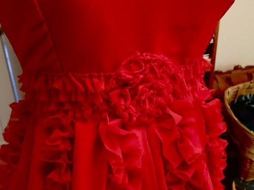 Hermione red dress progress 5