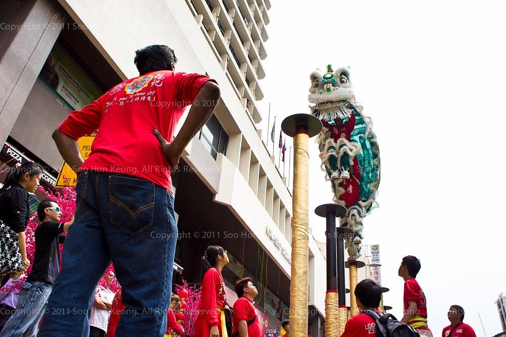 Lion Dance @ KL, Malaysia