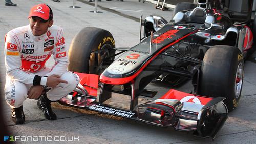 Lewis Hamilton McLaren MP4-26 2011 F1 21