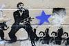 my little friend (the euskadi 11) Tags: street art wall stencil australia melbourne richmond scarface