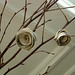 white love -natural white birch twigs and white birch bark roses