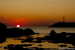 () - Sunrise at Rhodos island ( ) Tags: sunset sea sun beach sunrise coast rocks hellas greece rodos rhodes rodi dimitris rhodos            katsaras