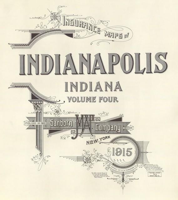 Indianapolis, Indiana 1915
