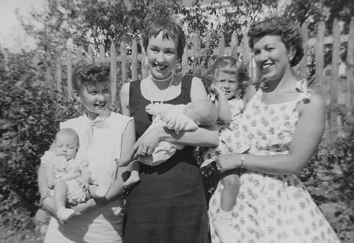 Kay Knotts - taken June 27, 1954