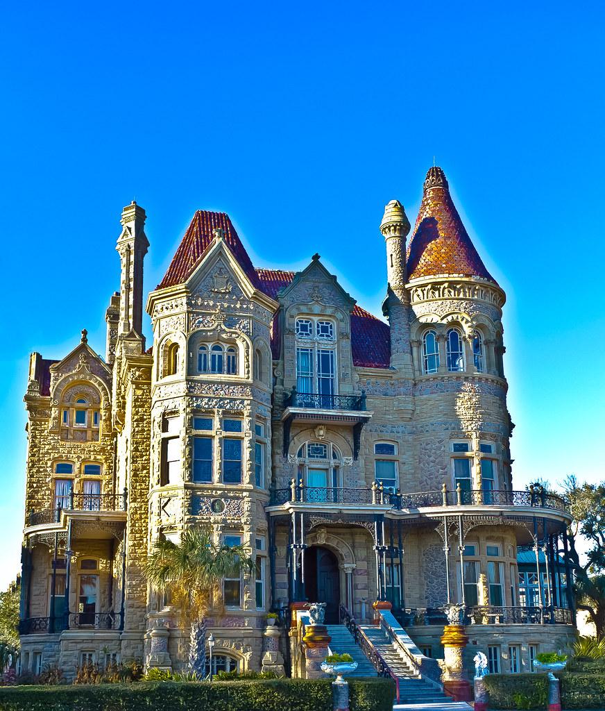 Bishop's Palace - Galveston, Texas