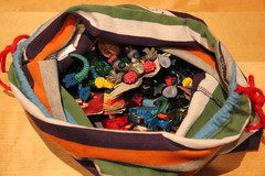 Easy Gormiti bag for Jan 8 (betty.) Tags: