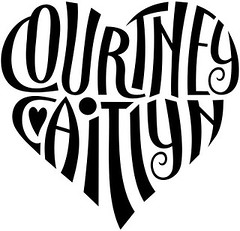 """Courtney"" & ""Caitlyn"" Heart Design"