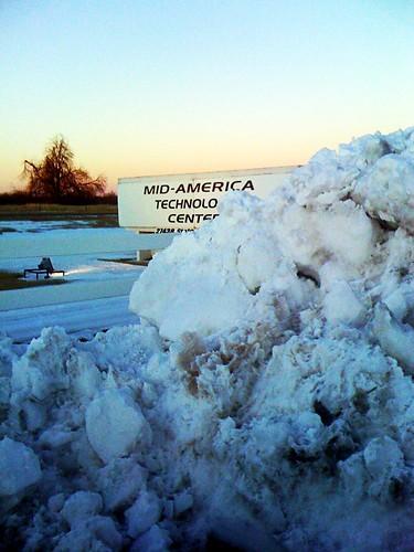 snowy-pile