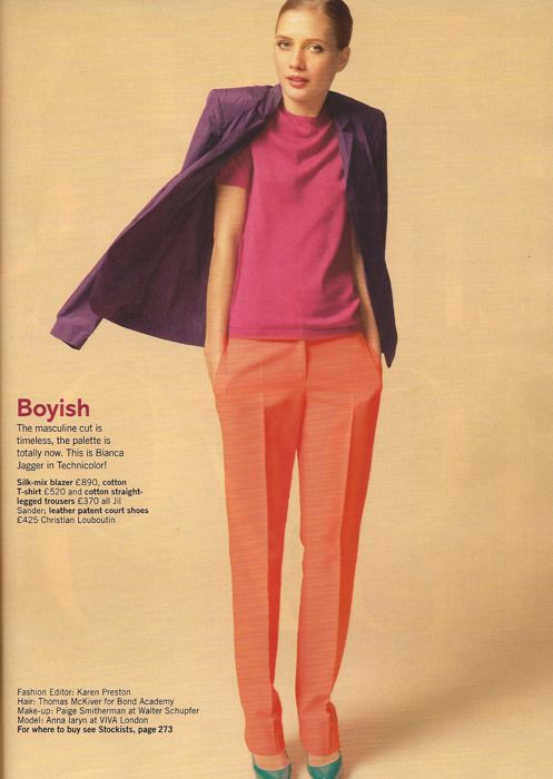 Glamour March 2011 Pop your colour editorial 2