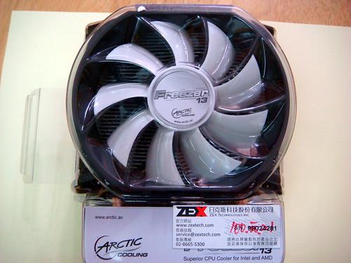 AC Freezer 13 散熱風扇