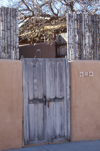 Santa Fe Courtyard Door