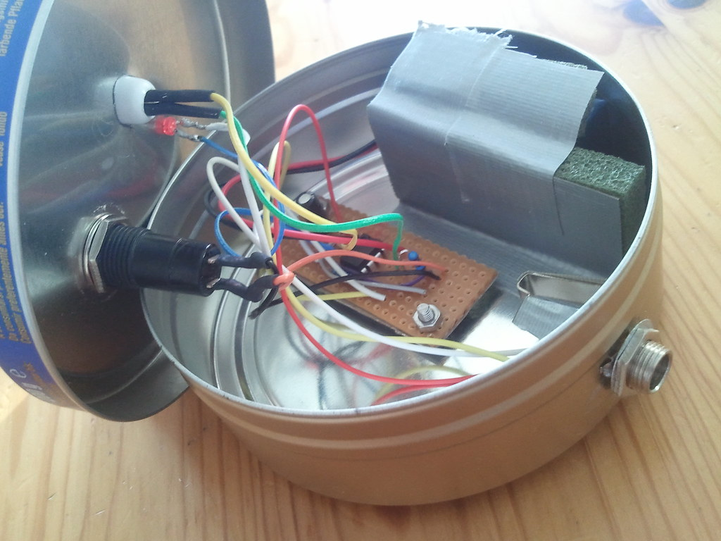 The Worlds Best Photos Of Diy And Theremin Flickr Hive Mind This Was Original Optical Circuit In A Tin Can Wstryder Tags Sketch Drawing Electronics Timer