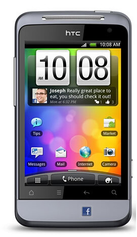 HTC Salsa - Facebook at a Touch