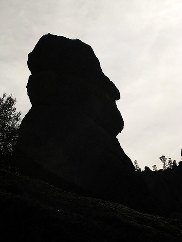 Rock Silhouette in Pinnacles National Monument