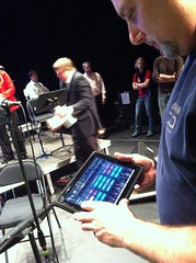 Yamaha iPad StageMix app (elonmusic) Tags: ipad elonuniversity musictechnology ribbonmic