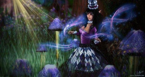 Selene in Wonderland