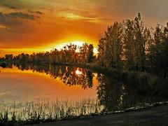 sunset on the lake (sabinusbrutus) Tags: artistoftheyearlevel3 artistoftheyearlevel4 artistoftheyearlevel5 artistoftheyearlevel6